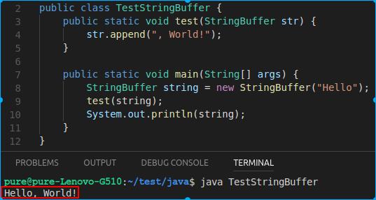 TestStringBuilder输出